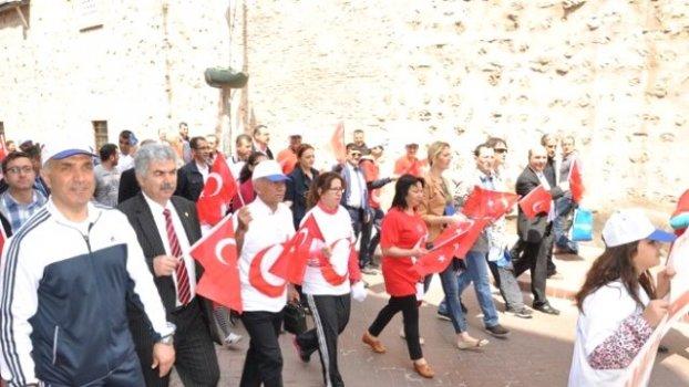 Sinop'ta Gençlik Yürüyüşü