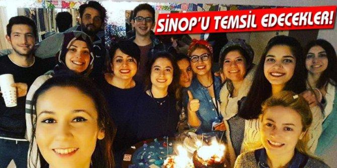 GÜLBAHAR KARADUMAN VE EKİBİ SİNOP'U TEMSİL EDECEK!