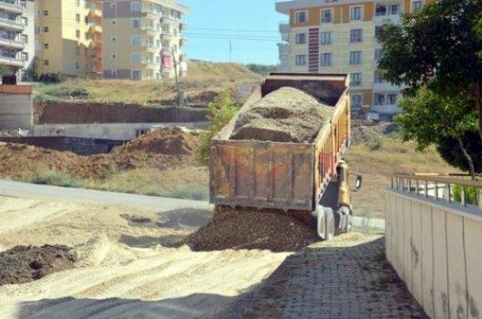 Boyabat Belediyesi asfalt çalışmaları gerçekleştiriyor
