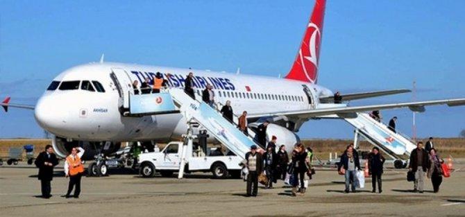 Sinop'un uçuş istatistikleri açıklandı
