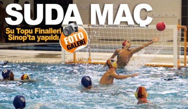 Su Topu Finalleri Sinop'ta yapıldı