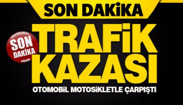 Türkeli'de trafik kazası: 1 yaralı