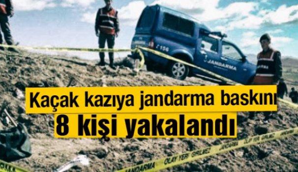 Türkeli'de define avcılarına suçüstü
