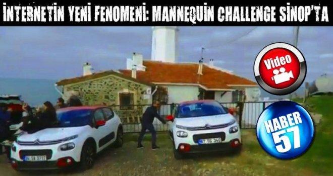 İNTERNETİN YENİ FENOMENİ: MANNEQUİN CHALLENGE SİNOP'TA
