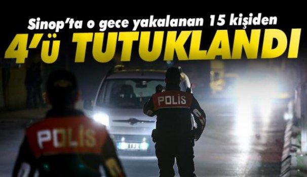 Huzur oprerasyonu ardından 4 kişi tutuklandı