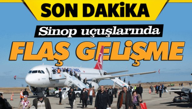 Pegasus Sinop-İstanbul seferlerine başlıyor
