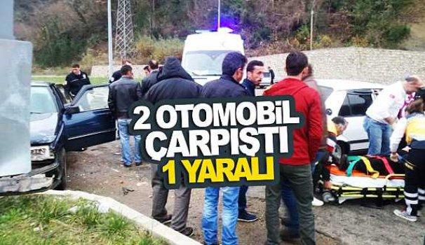 Sinop-Erfelek yolunda trafik kazası - Vitrin Haber