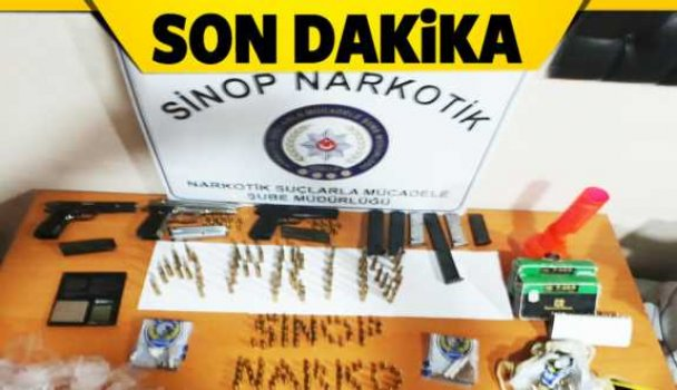 Sinop'un 2 ilçesinde polis operasyonu - Vitrin Haber
