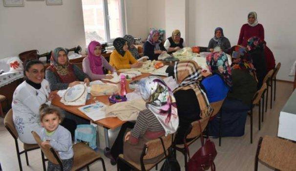 Boyabat'ta Halk Eğitim Merkezi faaliyetleri