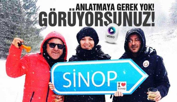 Sinop'un yeni kar fenomenleri