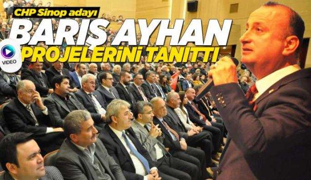 CHP Sinop Adayı Ayhan projelerini açıkladı