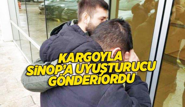 Kargo ile uyuşturucu ticaretine tutuklama