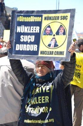 Çevreciler Sinop'tan Haykırdı; 'Nükleere İnat Yaşasın Hayat'