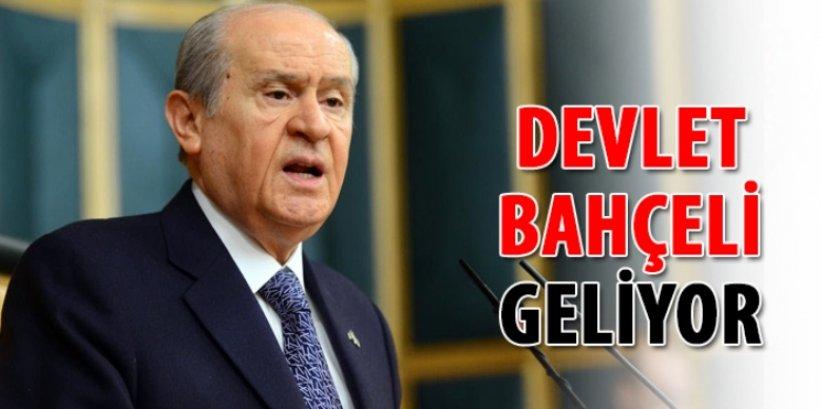 Devlet Bahçeli Sinop'a geliyor