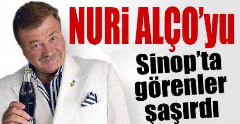 Nuri Alço'nun Güzelkent ziyareti