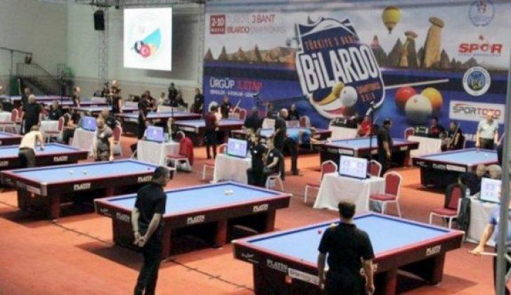 Türkiye 3 bant bilardo şampiyonası Guınness rekorlar kitabında