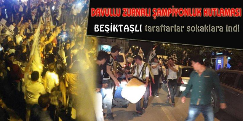 SİNOP'TA ŞAMPİYONLUK KUTLAMASI