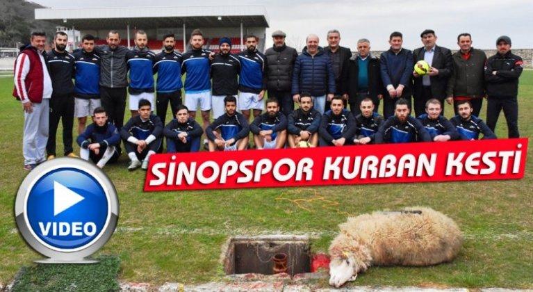 SİNOPSPOR KURBAN KESTİ