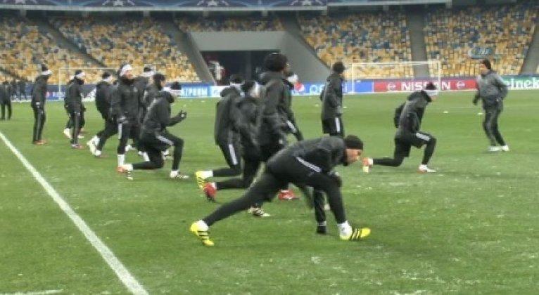 Beşiktaş, Dinamo Kiev sınavına hazır