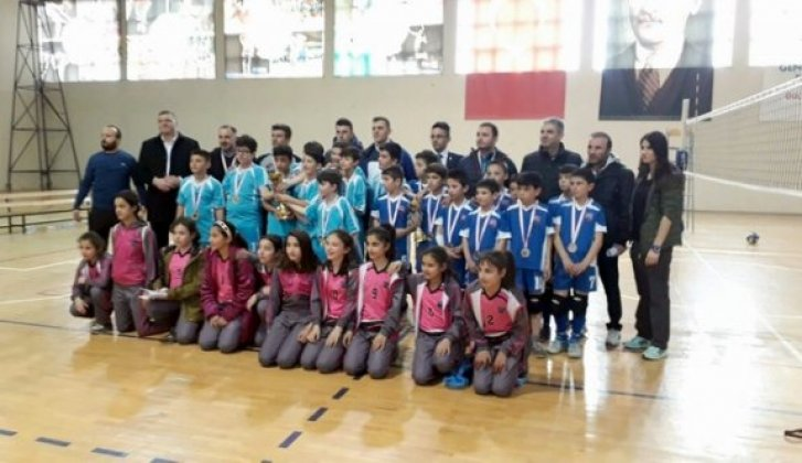 Okul sporları il birinciliği müsabakaları yapıldı