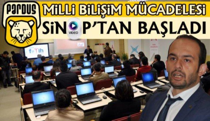 Milli Bilişim Mücadelesi Sinop'tan Başladı