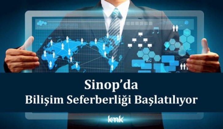 Sinop'ta bilişim seferberliği başlatılıyor