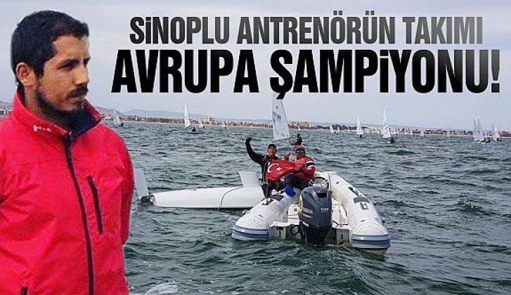 Sinoplu antrenörün takımı Avrupa şampiyonu