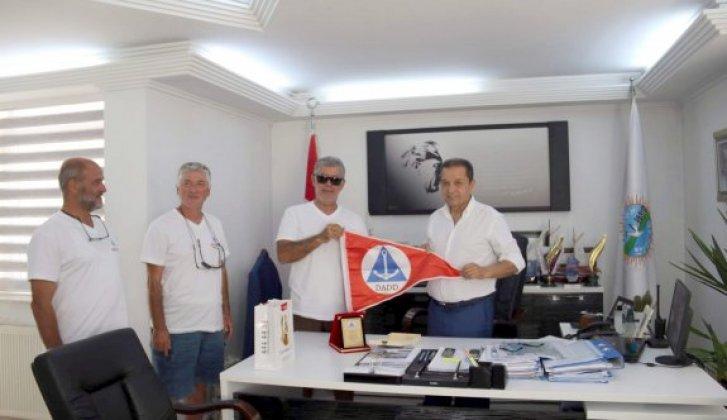 Amatör Denizciler Derneğinden Başkan Ergül'e ziyaret