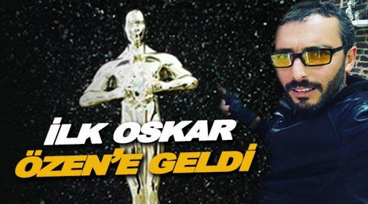 Moto Club oskar ödülü Sinop'lu gazeteciye verildi