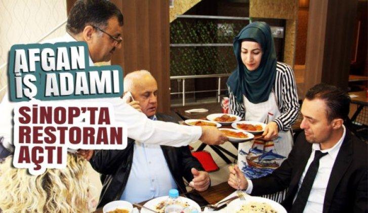 Afgan iş adamı Sinop'ta restoran açtı - Vitrin Haber