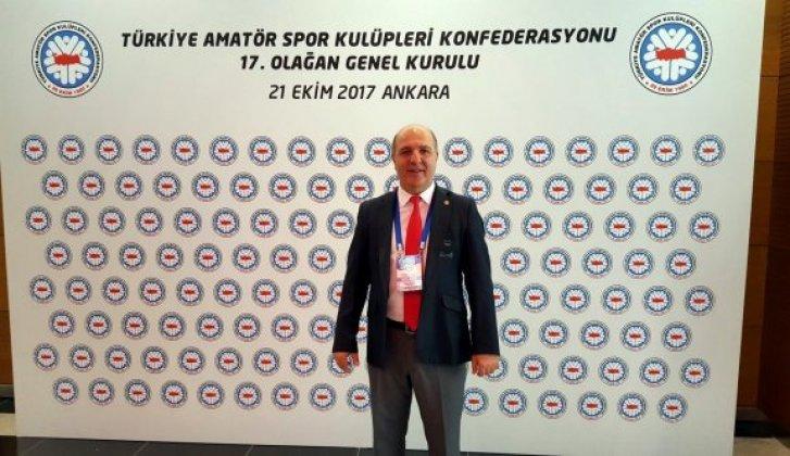 Başkan Özhan, TASKK Yönetim Kurulu üyeliğine seçildi - Vitrin Haber