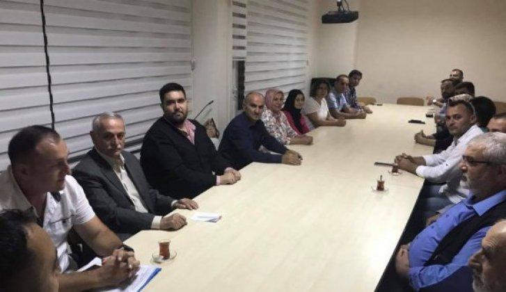 Merkez İlçe İlk Toplantısını Yaptı - Vitrin Haber