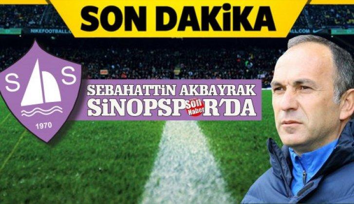 Sinopspor'da, Akbayrak dönemi - Vitrin Haber