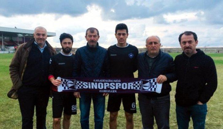 Sinopspor'a takviyeler devam ediyor - Vitrin Haber