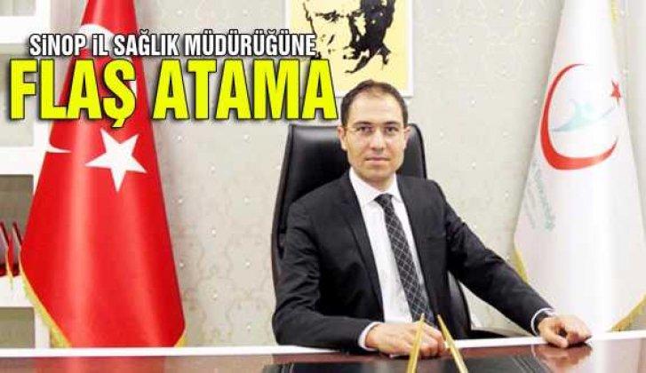 Sinop İl Sağlık Müdürlüğüne Dr. Erşan atandı - Vitrin Haber