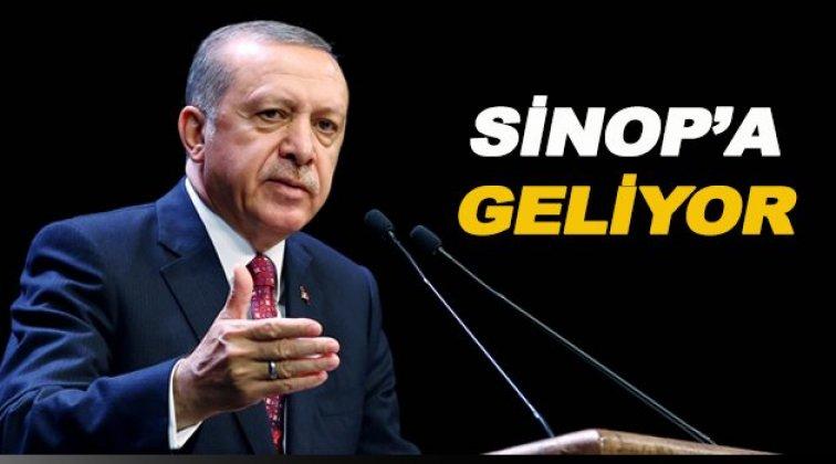 Erdoğan Sinop'a geliyor