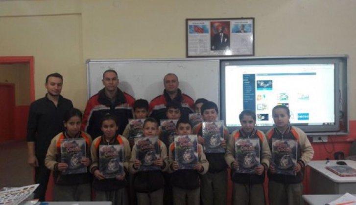 Jandarmadan çocuklara trafik eğitimi - Vitrin Haber