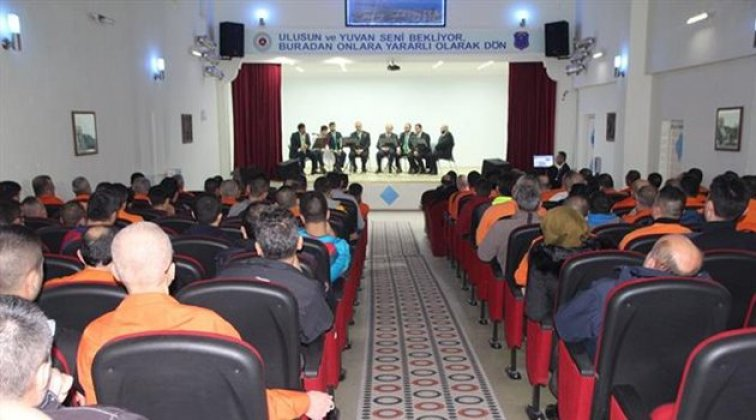 Müftülükten mahkumlara yönelik program