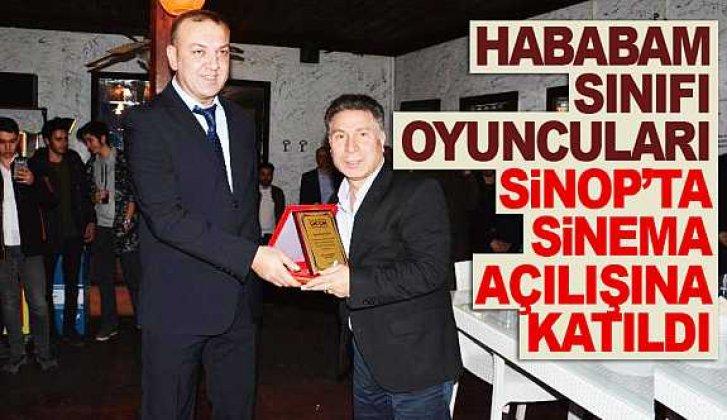 Sinop'ta Hababam oyuncularıyla Sinema açılışı - Vitrin Haber