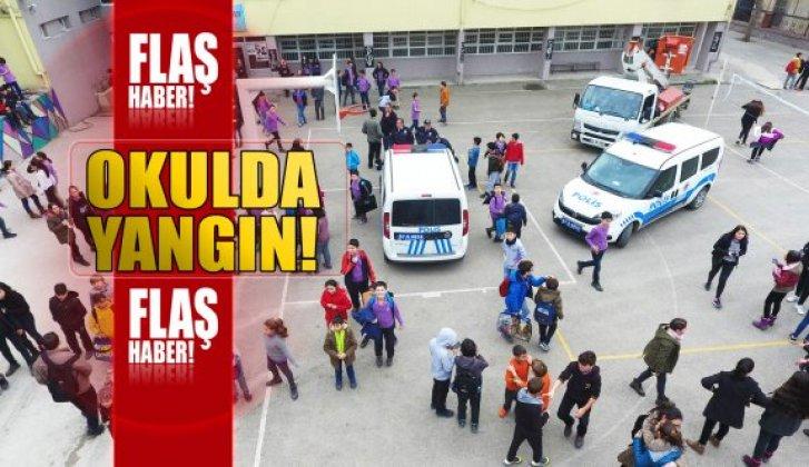 Sinop'ta bir okulda yangın çıktı - Vitrin Haber