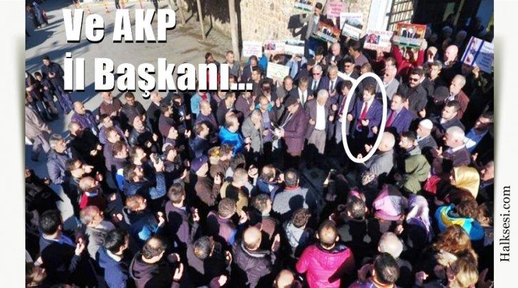 Sinop'ta Kudüs Protestosu