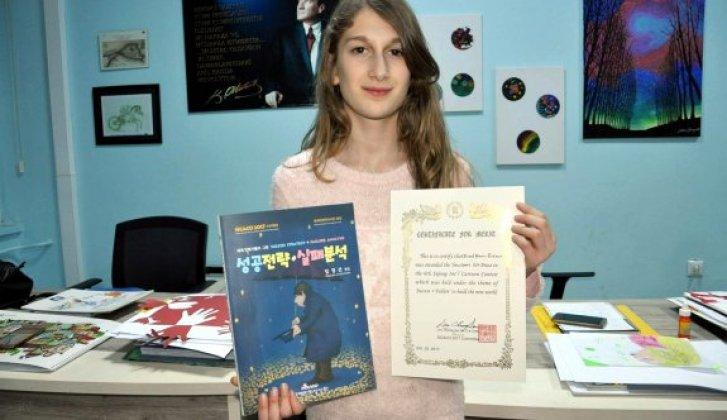 Sinoplu öğrenciye Uluslararası ödül - Vitrin Haber