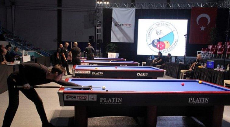 Türkiye 3 Bant Bilardo Şampiyonası Final heyecanı Sinop'ta başladı!