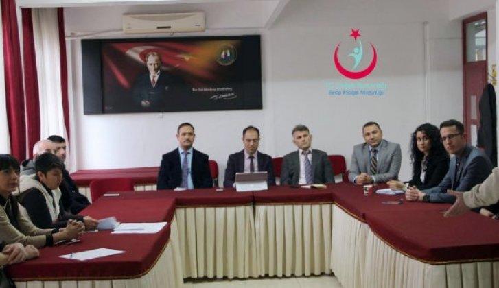 Verem Kontrol Kurulu toplantısı yapıldı - Vitrin Haber