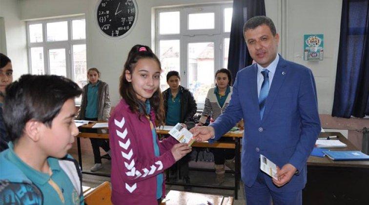 Boyabat Belediyesinden öğrencilere destek