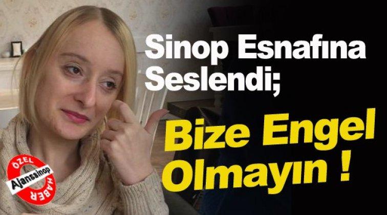 Engelli Vatandaşın Sinop Esnafından Rampa Talebi !