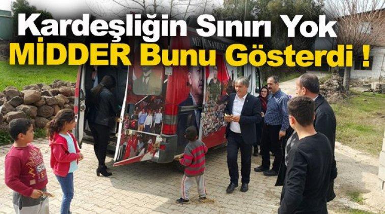 MİDDER Sinop Teşkilatı Sınırda !