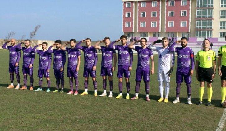 Sinopsporlu Futbolculardan Asker Selamı - Vitrin Haber