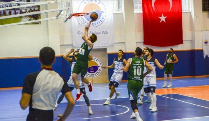 ÜNİ LİG Basketbol müsabakaları başladı - Vitrin Haber
