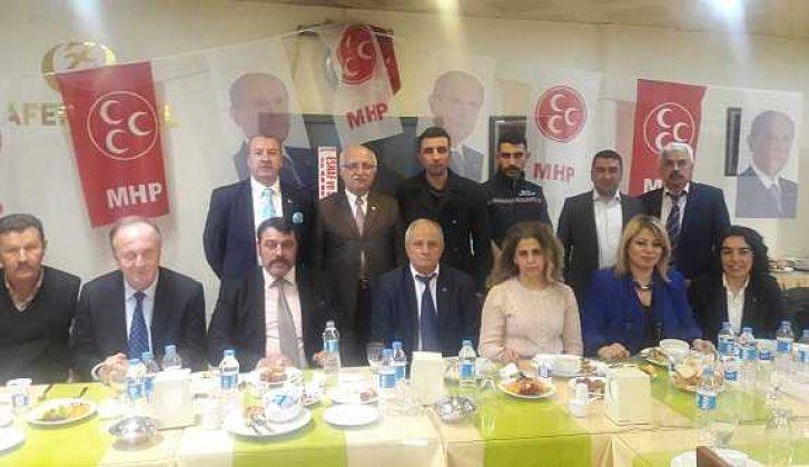 MHP teşkilatları Boyabat'ta buluştu - Vitrin Haber